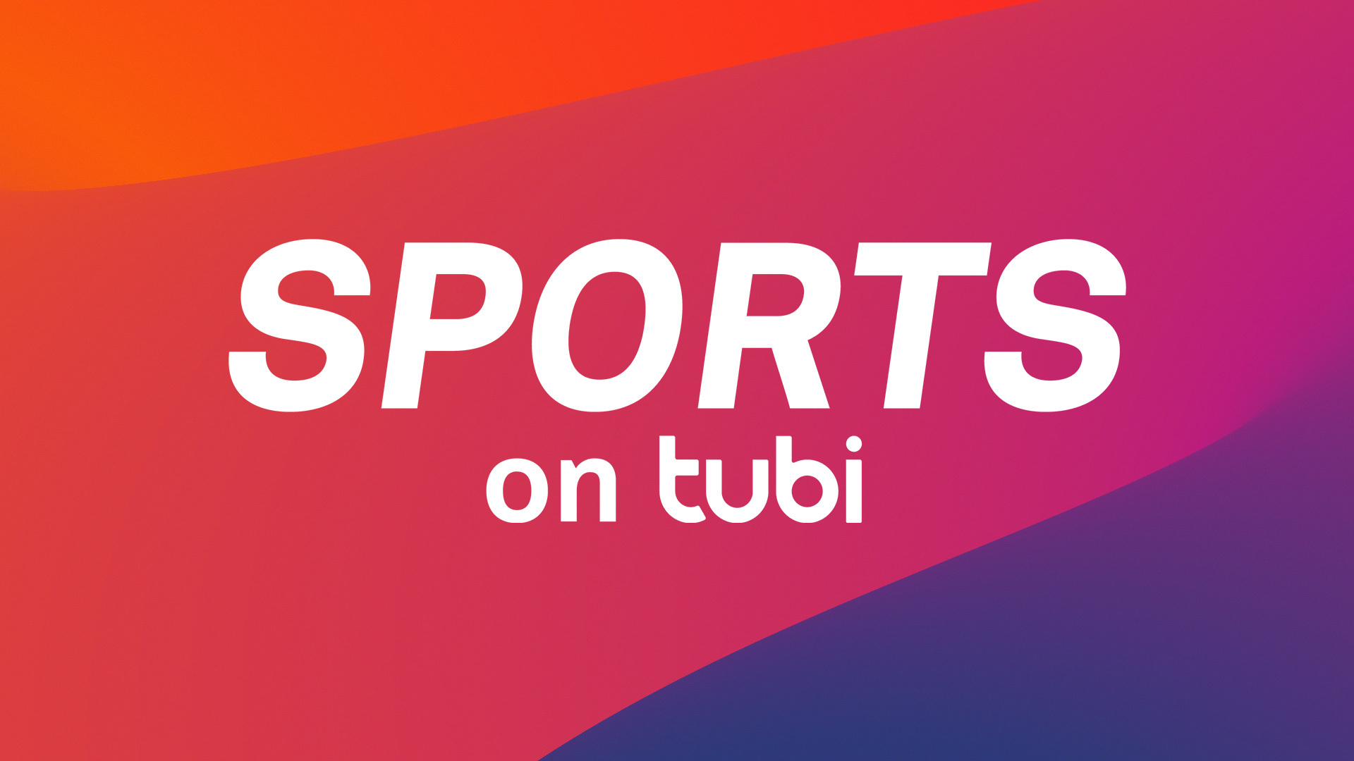 """TUBI AND FOX SPORTS TEAM UP TO LAUNCH """"SPORTS ON TUBI"""""""