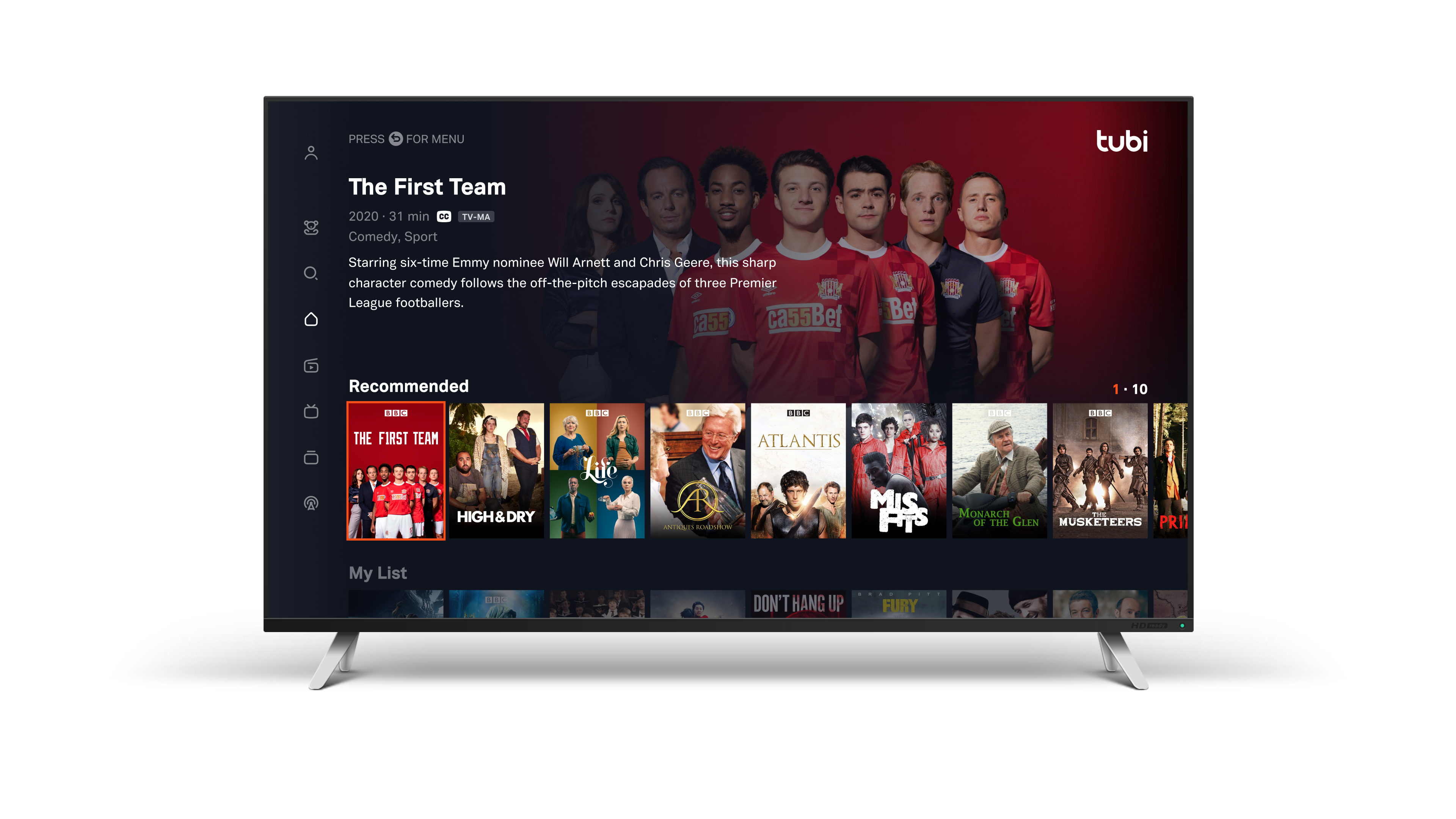 TUBI AND BBC STUDIOS ENTER SIGNIFICANT CONTENT DEAL TO BRING OVER 400 HOURS OF PREMIUM PROGRAMMING TO FOX ENTERTAINMENT'S FREE STREAMING SERVICE