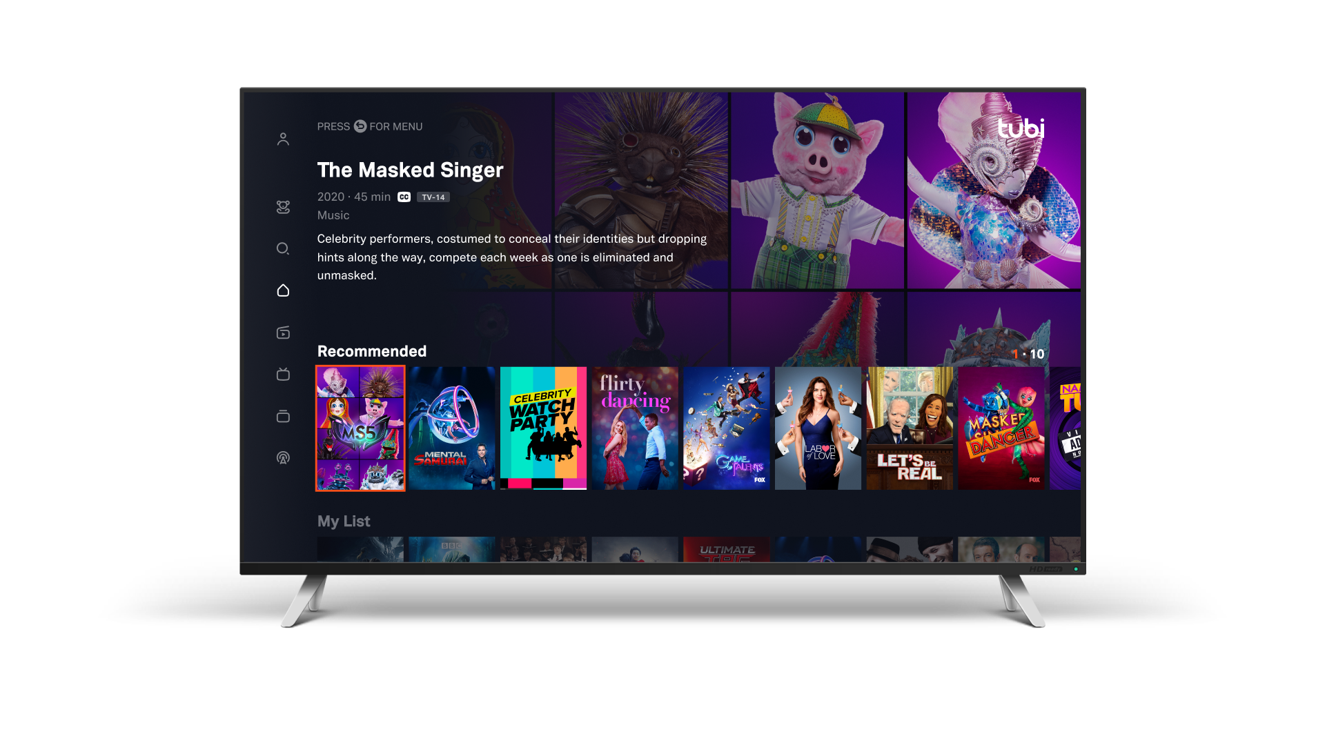 TUBI ADDS TOP-RATED FOX TITLES TO ITS FAST-GROWING LIBRARY IN CANADA